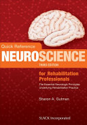 Cover of Quick Reference Neuroscience for Rehabilitation Professionals