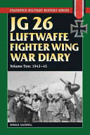 JG 26 Luftwaffe Fighter Squadron War Diary