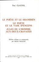 Le poëte et le shamisen de Paul Claudel