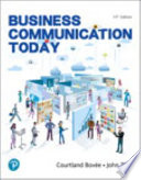 Mylab Business Communication with Pearson Etext -- Access Card -- For Business Communication Today