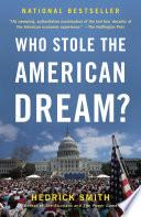 Who Stole The American Dream  PDF