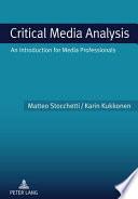 Critical Media Analysis
