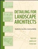 Detailing for Landscape Architects [Pdf/ePub] eBook