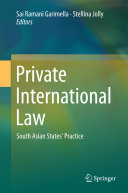 Private International Law Pdf/ePub eBook