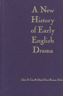 A new history of early English drama
