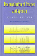 Cover of Deconvolution of Images and Spectra