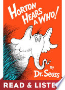Horton Hears A Who  Read   Listen Edition