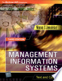 Management Information Systems Texts And Cases Book PDF