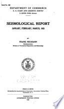 Seismological Report