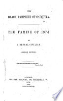 The Black Pamphlet of Calcutta  The Famine of 1874