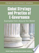 Global Strategy And Practice Of E Governance Examples From Around The World