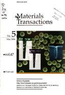 Materials Transactions