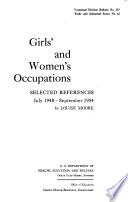 Girls And Women S Occupations