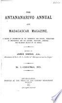 Antananarivo Annual and Madagascar Magazine