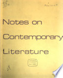 Notes on Contemporary Literature