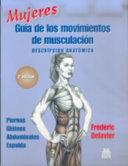 MUJERES. Guía de los movimientos de musculación -descripción anatómica- (Color)