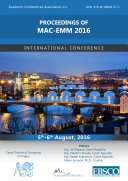 Proceedings of MAC-EMM 2016