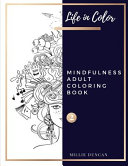 MINDFULNESS ADULT COLORING BOOK  Book 2