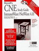 Novell s CNE Study Guide IntranetWare   NetWare 4 11 Book
