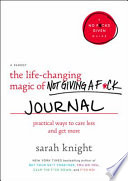 The Life-Changing Magic of Not Giving a F*ck Journal