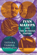 Ivan Mazepa and the Russian Empire Book