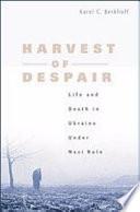 Harvest of Despair Book