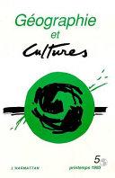 Pdf Géographie et cultures n°5 Telecharger