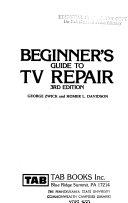 Beginner s Guide to TV Repair