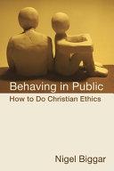 Behaving in Public Pdf