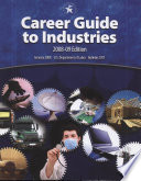 Career Guide to Industries  2008 09 Book