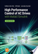 High Performance Control of AC Drives with Matlab Simulink