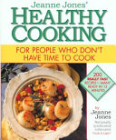 Jeanne Jones  Healthy Cooking