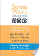 The Application of Stress-wave Theory to Piles