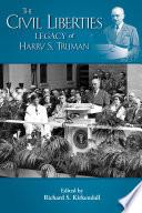 The Civil Liberties Legacy Of Harry S Truman PDF