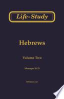 Life Study Of Hebrews
