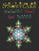 Snowflake Coloring Book for Adults