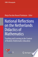 National Reflections on the Netherlands Didactics of Mathematics