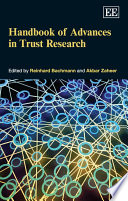 Handbook of Advances in Trust Research