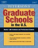 Graduate Schools in the U  S