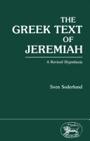 Greek Text of Jeremiah