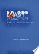 Governing Nonprofit Organizations Book PDF