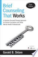 Brief Counseling That Works Book