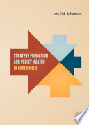 Strategy Formation And Policy Making In Government