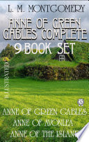 Anne Of Green Gables Complete 9 Book Set  Illustrated