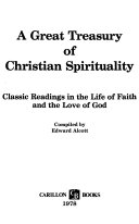 A Great Treasury of Christian Spirituality