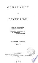 Constancy, and Contrition