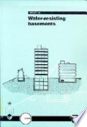 Water Resisting Basement Construction Book PDF