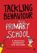 Tackling Behaviour in Your Primary School