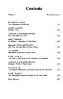 Studies in Comparative Religion