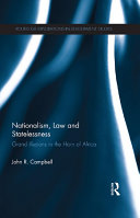 Pdf Nationalism, Law and Statelessness